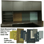 Status Hutch + Tackboards Available