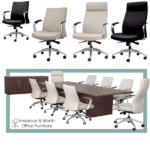 Leo Seating Collection Conference Setting