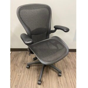 Used Herman Miller Aeron Size C Front Angle