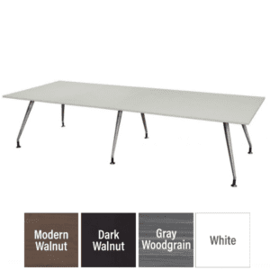 """Luna 144"""" Conference table - Rectangular Table"""