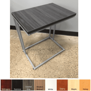 Office Source C-Shaped Side Table