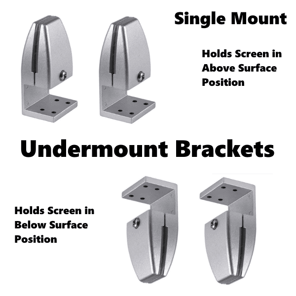 Mounts to Surface