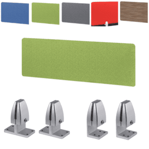 Lime Green Fabric Privacy Screen Divider