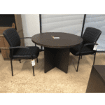 Tate Guest Chair with Round Table