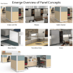 Maxon Emerge Panel Concepts Offerings