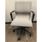 21621 All Silver Mesh Office Chair