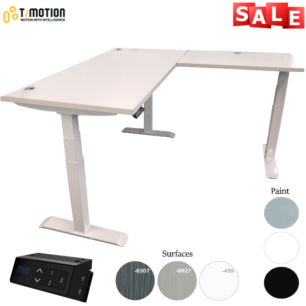Height Adjustable Desk Sit to Stand Desk - AW Office Furniture