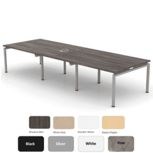 49D Two Piece Top Modular Table