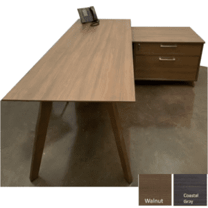 Sienna OX9150 L-Shaped Desk from Office Source