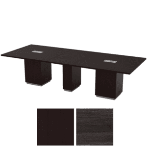 """TUX61 120"""" conference table with cube base"""