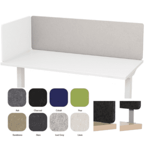 Acoustical Recycled Panels for Desks