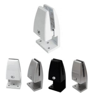 Single Mount Desk Mounting Brackets for Privacy Screens