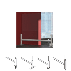 Terrace Sneeze Guard Clear Acrylic Material