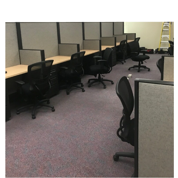 """Haworth Premise Workstation Walls - 64"""" Tall - Acoustical Privacy Solutions"""