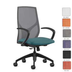 9to5 Seating Vault Task Chair with Soft C Arms
