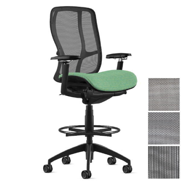 """Counter Task Stool for 36"""" Tall Surfaces"""