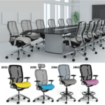 Vesta Conference Room Seating with Statement of Line Task Seating