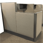 Premise Cubicle 6x6 with mixed heights
