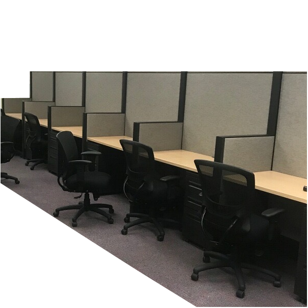 """64"""" Tall Used Cubicle Workstation Walls"""