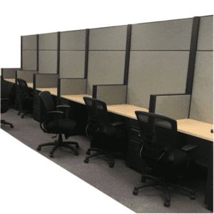 """Used Haworth Cubicles 80""""H - Dallas Fort Worth Inventory - Thousands of stations available"""