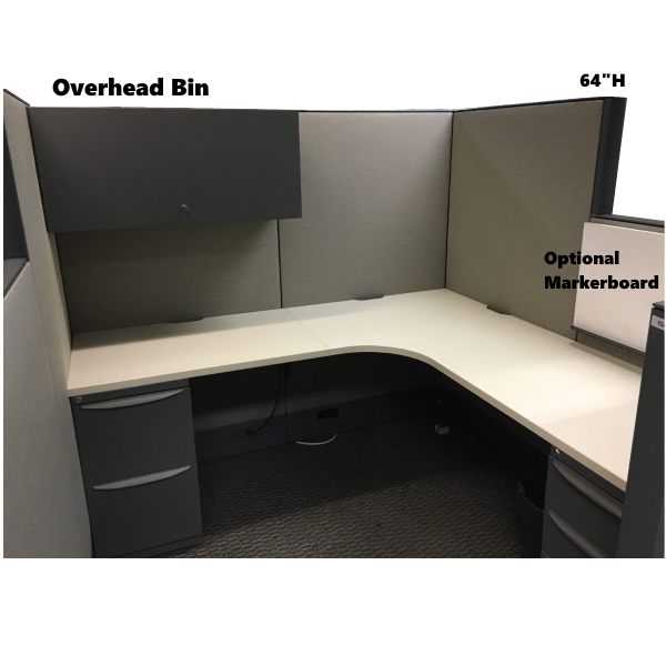 Interior View of Cubicle