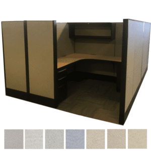 Recycled Cubicle Workstation - Haworth Premise Systems Furniture in Dallas