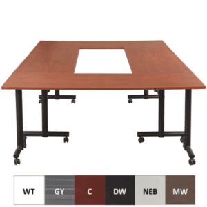 Express Mobile T-Leg Training Conference Table Concept