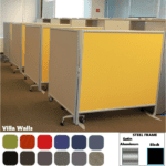 Mergeworks Villa Wall Partitions - Fabric Covered Room Dividers