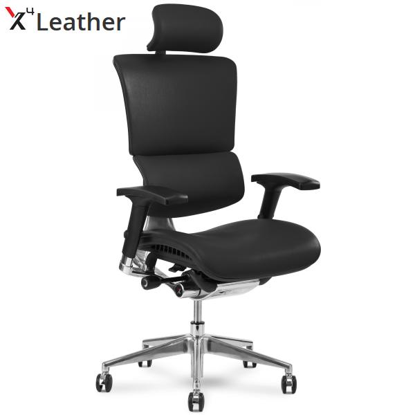 X4 Executive Chair | Headrest | Black