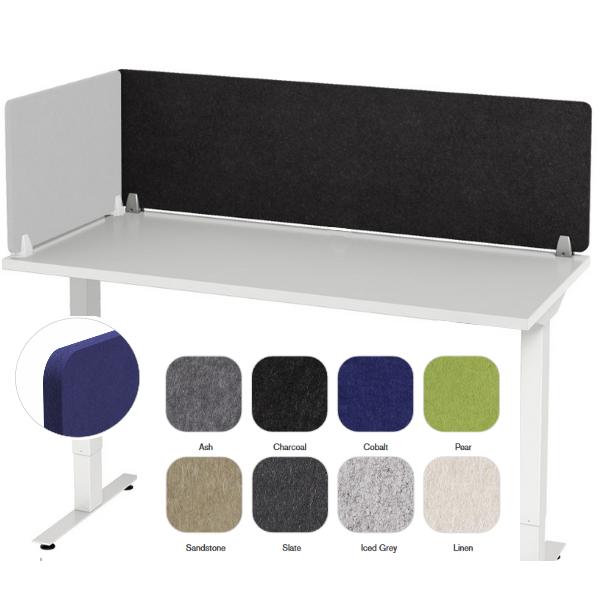 Enclave Acoustical Desk Panel | 12 Sizes