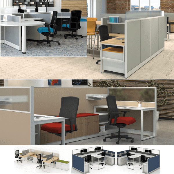Maxon Prefix Adjustable Standing Workstations