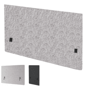 """30"""" Tall Acoustic Desk Screen Panel Shield - Sound Proofing Material"""
