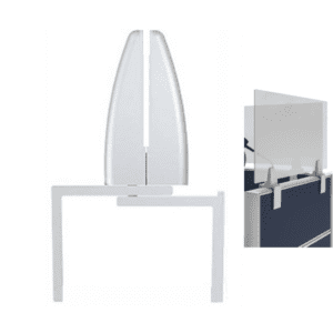 Removable Temporary Cubicle Mounting Hardware Brackets