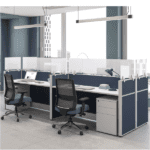 Cubicle Mounting Screens