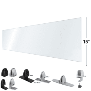 """15"""" Tall Privacy Screen"""