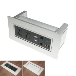 PLTBPOWER Silver Power and data Module for tables