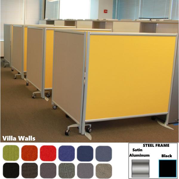 Villa Wall™ Room Divider   42″& 48″H   30″ & 37″W
