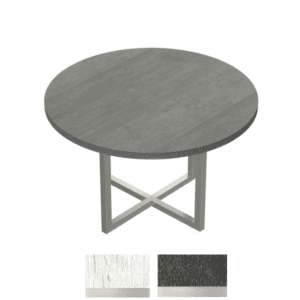 """42"""" Round Table in Stone Gray"""