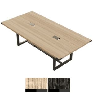 """Mirella 96"""" Conference Table in Sand Dune Finish"""