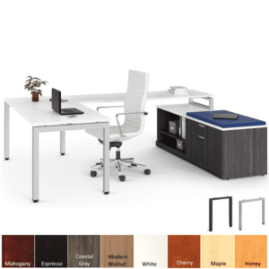 Modern contemporary office furniture from Office Source and Anderson and Worth