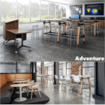 Adventure Standing Height Tables - Industrial