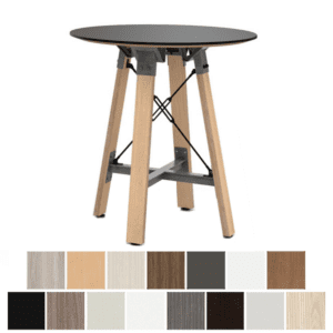 Bar Height Round Table with Knife Edge