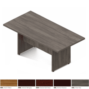 """SL 71""""W Conference Table - 5 Colors"""
