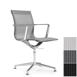 Joan mesh guest chairs from woodstock