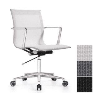 Mid Back Mesh Office Chair - Contemporary Office Swivel Chair - Joan Chair