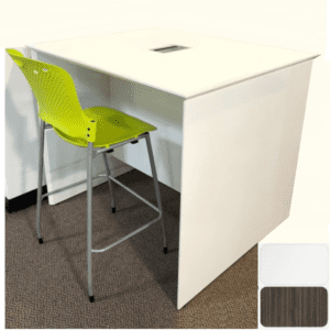 Parsons Standing Table with Recessed Power Module