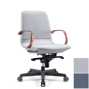 Anti Microbial Office Chair with Copper Arms