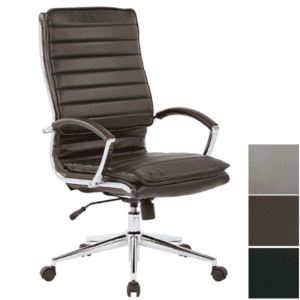 Espresso Bonded Leather Executive Chair