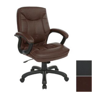 Brown Bonded Leather