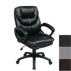 Black Mid Back Managers Chair FL660